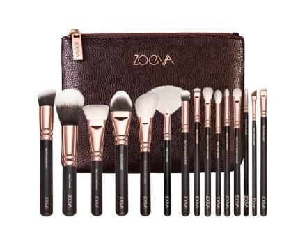 【德潮購】德國代購ZOEVA Rose Golden Complete Set Vol. 1 玫瑰金15支眼臉全套刷具