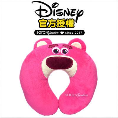 SaraGarden:正版迪士尼熊抱哥飛機枕枕頭靠枕午睡枕護頸枕U型枕柔軟絨毛