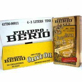 百益橄欖油3公升*4罐(共12公升)