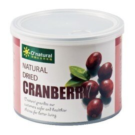 歐納丘整顆蔓越莓乾210g