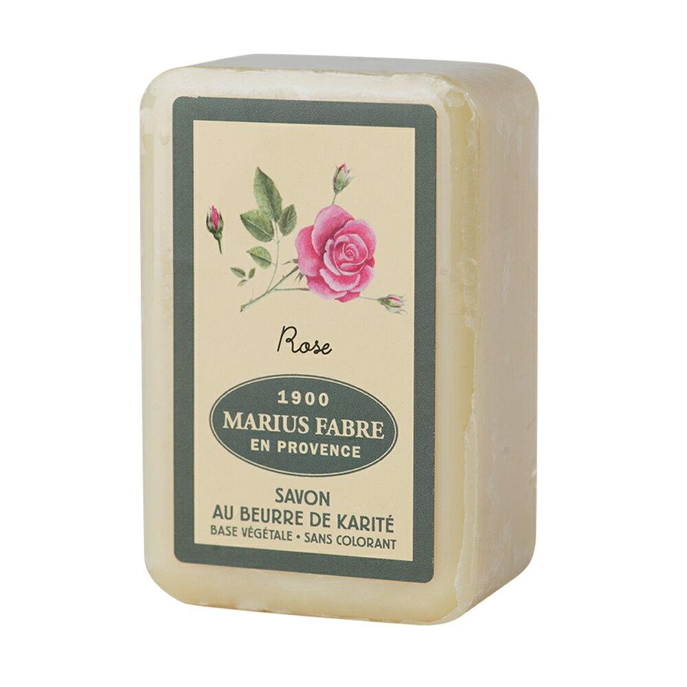 (1800折200) MARIUS FABRE 法鉑 天然草本法蘭西玫瑰棕櫚皂250G   UPSM 認證 / EPV 標章 / 法國原裝進口