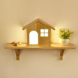 【Alice購物網】北歐LED實木壁燈(臥室床頭燈 裝飾壁燈 樓梯走道燈)
