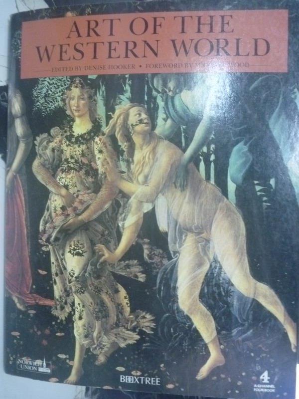 ~書寶 書T1/藝術_ZGD~Art of the Western World_Denis