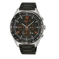 agnès b.眼鏡推薦到agnes b 7T12-0AP0E(BW8002P1)法式時尚風計時腕錶/黑面42mm就在大高雄鐘錶城推薦agnès b.眼鏡