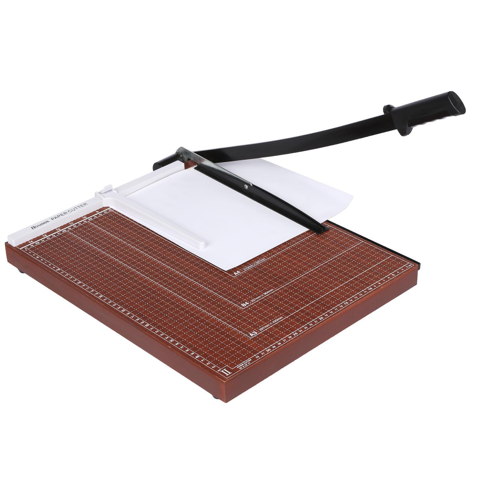 Wooden Paper Cutter A2-B7 0
