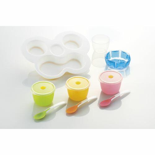 Richell利其爾 - ND 離乳食初期餐具套組 3