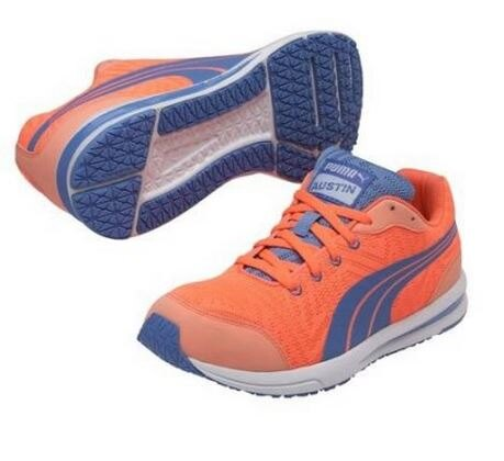 PUMA 彪馬 女 跑鞋 輕量 18747405 橘藍