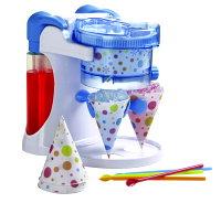 消暑廚房家電到【可利亞】 雙享泡電動刨冰機 KR-0148