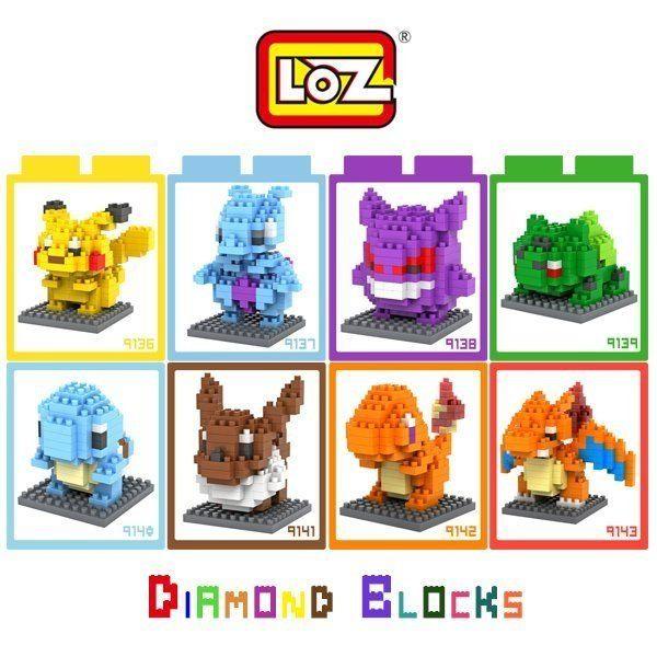 LOZ 迷你鑽石小積木 神奇寶貝 系列 樂高式 組合玩具 益智玩具 原廠正版 大盒款