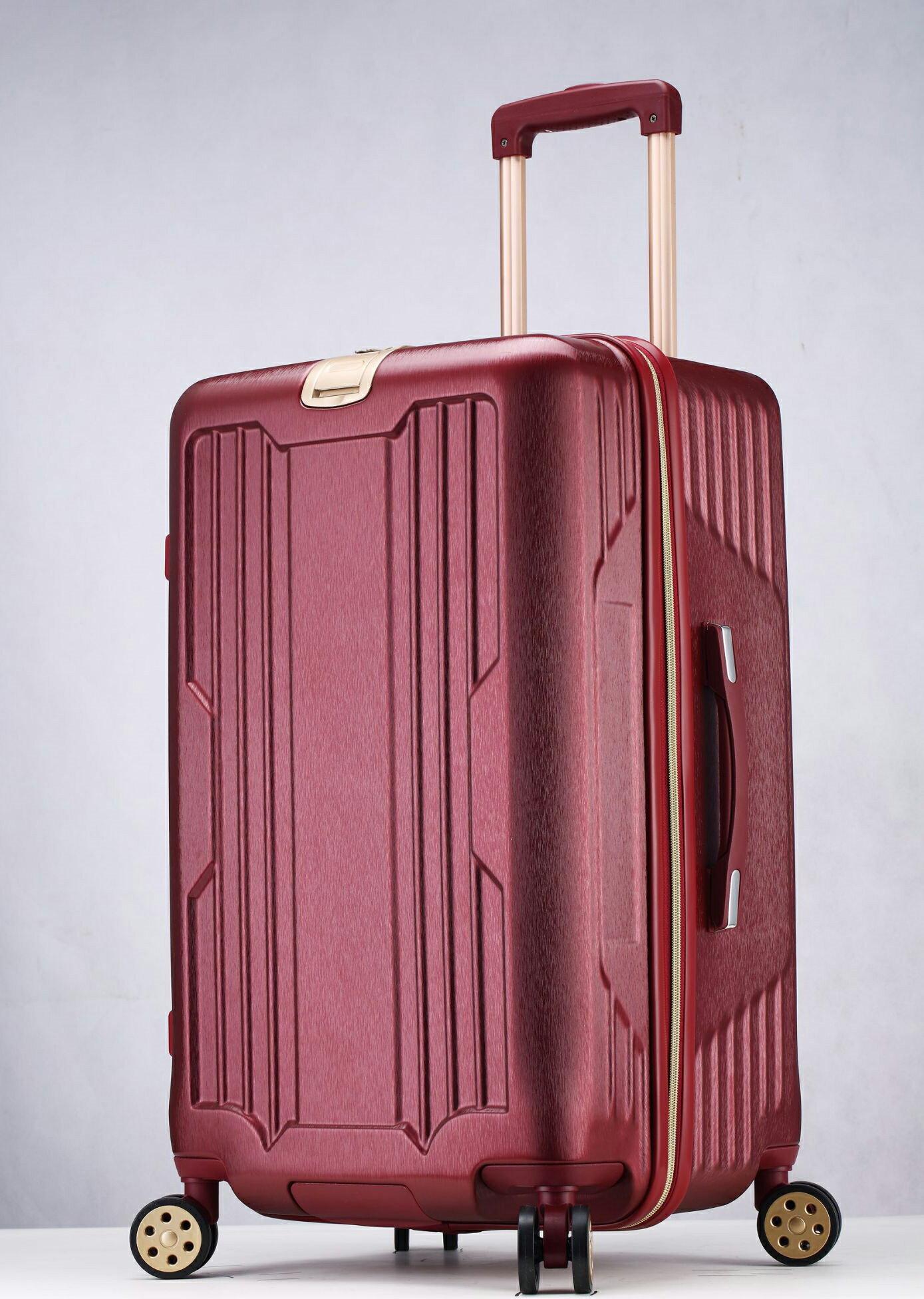 運動款 拉鍊 胖胖箱 旅行箱 20吋25吋29吋 行李箱 -鐵灰色 / 深紫色 / 玫瑰金-現貨當日出貨-免運台南可預約自取 3