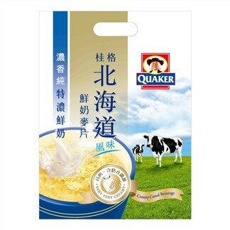 *健人館* 桂格北海道鮮奶麥片 特濃鮮奶 28公克X12包/ 袋
