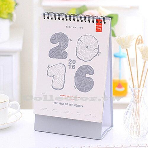 【L15111801】2016年【刮刮樂】DIY桌曆 刮刮銀消失的日子贈Diy貼紙