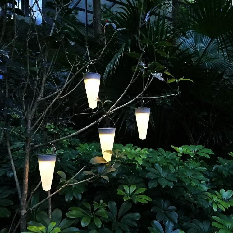 太陽能燈戶外庭院燈家用防水花園別墅草坪插地燈景觀裝飾彩燈路燈 快速出貨