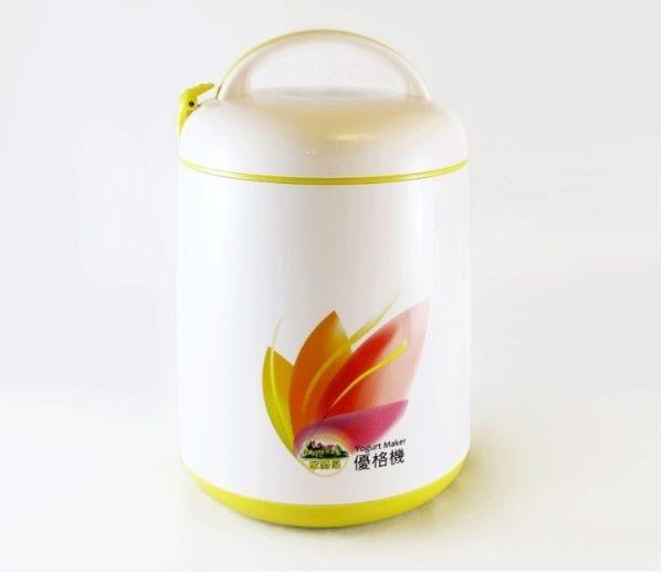 家酪優 免插電優格機(內附玻璃內罐及竹攪拌棒)定溫發酵 美國FDA認證材質
