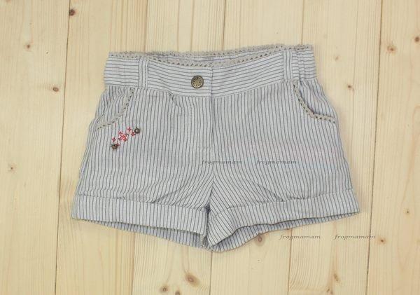歐單棉紗條紋格紋褲.4T.6T.8T(6折專區)