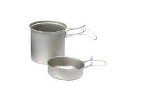 【露營趣】EPIgas 冒險炊具套組 超輕 鈦鍋 1人鍋 一人鍋 單人鍋 鈦金屬鍋具 鈦合金鍋具 T-8004