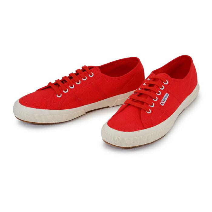 【SUPERGA】義大利國民鞋-紅  Cotu - Classic2750 2
