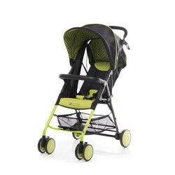 【淘氣寶寶】美國 ZOE T11 Urban 手推車(綠色)(附坐墊+防塵套+扶手)【總代理公司貨】