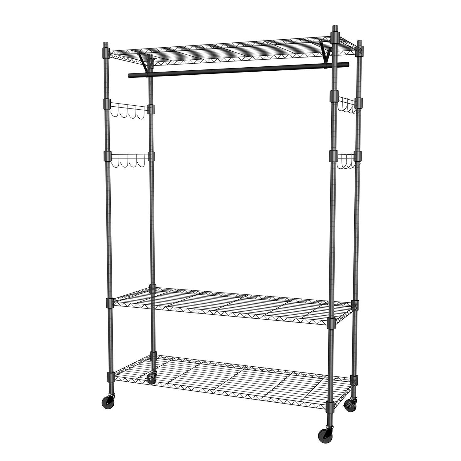 MIRAGE | Rakuten: Portable 3-Tier Wire Shelving Clothes Shelf ...