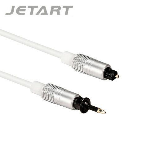 JetArt捷藝2.0M光纖音源線CBA120【三井3C】