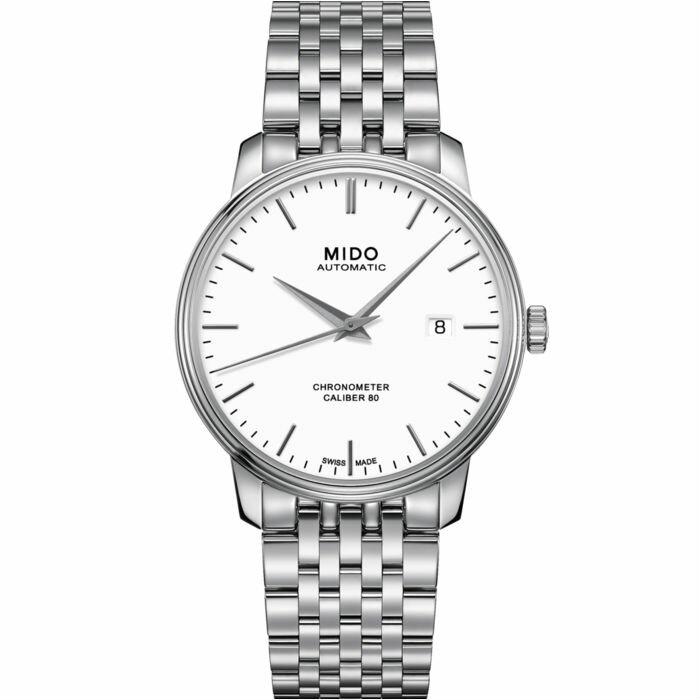 Mido 美度錶 M0274081101100 Baroncelli系列天文台機械腕錶  / 40mm - 限時優惠好康折扣