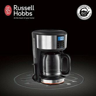 Russell Hobbs 英國羅素 60週年 Legacy 晶亮咖啡機 (20681TW-晶亮銀) ★送蒸蛋器★送蒸蛋器