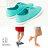 格子舖*【KA-10】韓國運動風 簡約素面 春夏氣息亮色系 綁帶休閒帆布鞋 懶人鞋 3色 - 限時優惠好康折扣