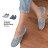 ★399免運★格子舖*【KIP132】MIT台灣製 百搭休閒車線破壞感牛仔布 平底懶人鞋帆布鞋 2色 - 限時優惠好康折扣