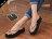 格子舖*【AW229A】MIT台灣製 夏天海邊必備 鑲鑽3.5cm厚底夾腳拖 人字拖 海灘拖 2色 - 限時優惠好康折扣