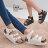 ★399免運★格子舖*【KWB701】MIT台灣製高質感基本款皮革 高筒繞踝羅馬厚底增高涼鞋懶人鞋 2色 - 限時優惠好康折扣