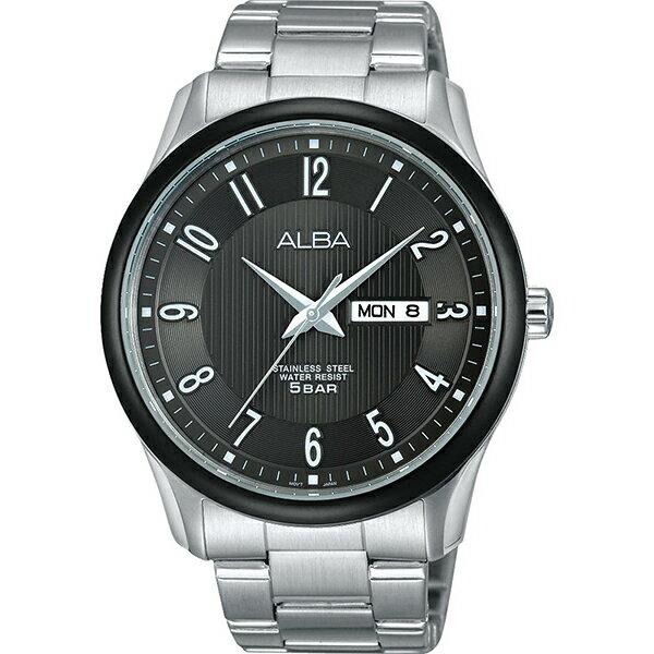 ALBA VJ43-X022N(AV3261X1)城市簡約時尚腕錶/黑面42mm