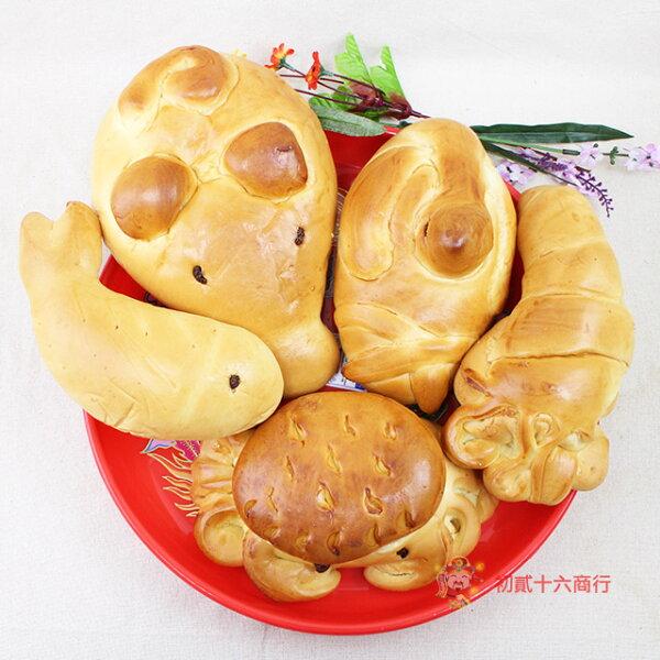 【0216零食會社】素五牲套組-法國麵包(四種口味)-1800g