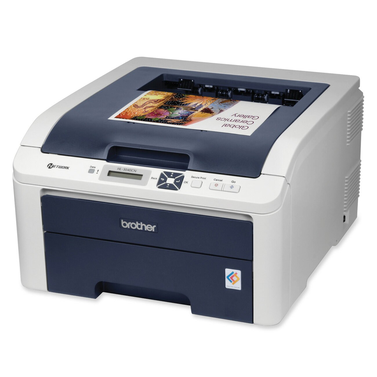 Brother HL-3040CN Digital Color Printer with Networking 0