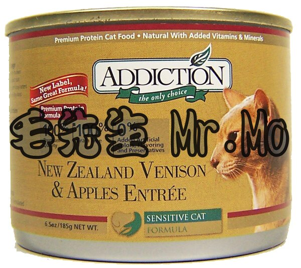Addiction 自然癮食 貓罐頭 主食罐 185g 單罐