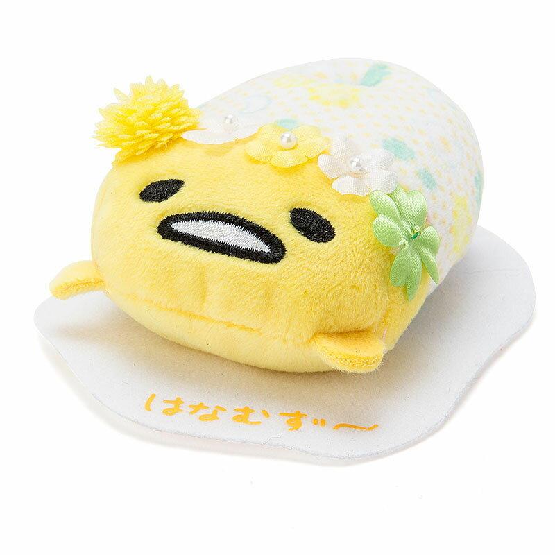 【真愛日本】16042200035茲姆娃-GU黃點花  三麗鷗家族 Gudetama 蛋黃哥 玩偶 布偶 玩具 收藏