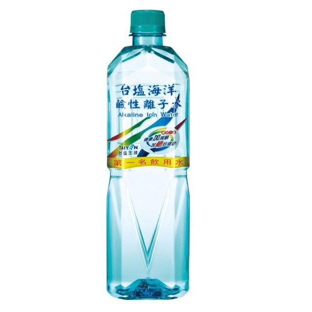台鹽 海洋鹼性離子水 1500ml (12入)x2箱【康鄰超市】