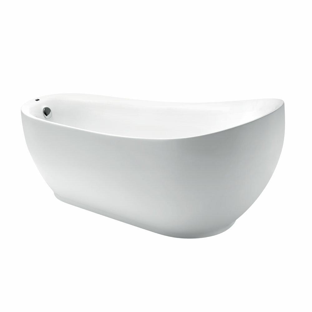 Derek 獨立浴缸180x90x80/純白/66006