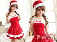 送小孩聖誕禮物到天使甜心 QF1069紅 聖誕裝 角色服 表演服 耶誕節