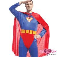 尾牙推薦商品到天使甜心 TH0149藍 超人角色扮演服 角色服Party 萬聖節 耶誕裝 尾牙 表演服