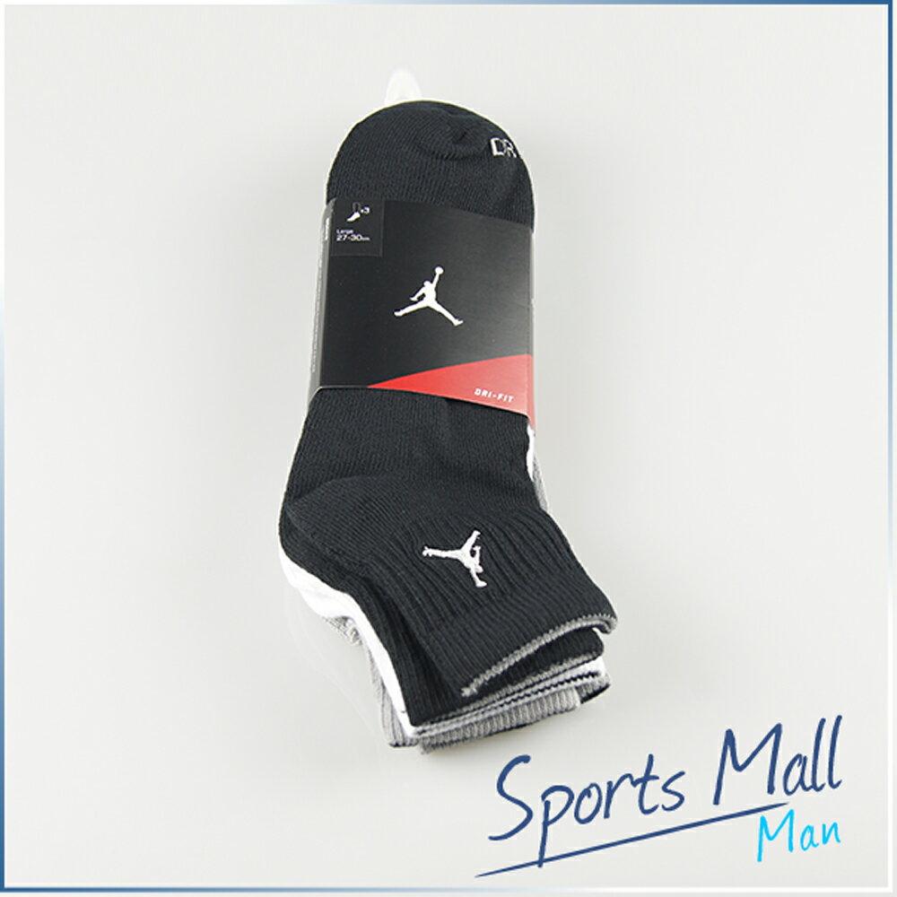 NIKE 耐吉 NIKE AIR JORDAN CREW SOCK DRI-FIT 3入  籃球專用短襪  專業運動襪 546480901