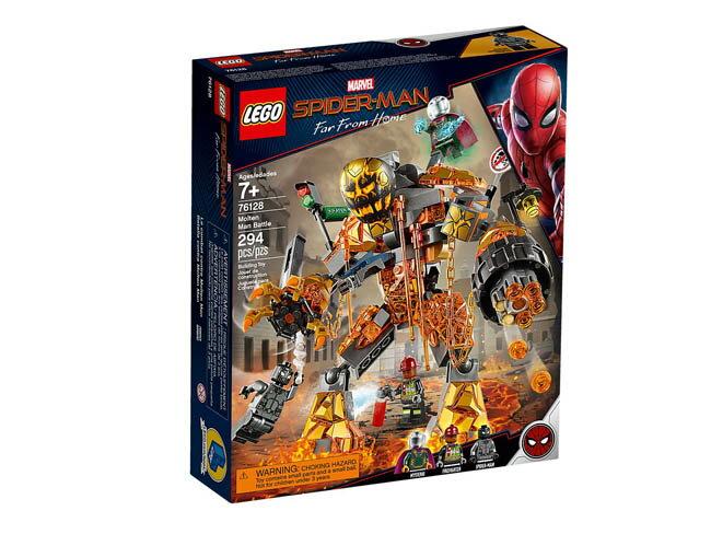 【LEGO 樂高積木】Super Heroes 超級英雄系列-Marvel 離家日 熔火人之戰 LT-76128