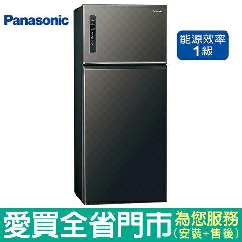 Panasonic國際579L雙門變頻冰箱NR-B589TV-K(星空黑)含配送到府+標準安裝【愛買】