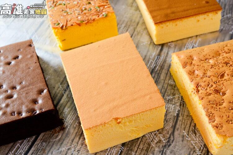 不加水!極濕潤蛋糕體!招牌黃金蛋糕(600g/盒)-笛爾手作現烤蛋糕! 3