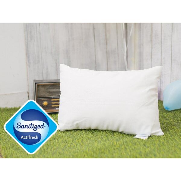 [Snug Nights]國際抗菌技術sanitized山寧泰☆33×45cm防蹣抗菌小童枕*MIT台灣製/透氣