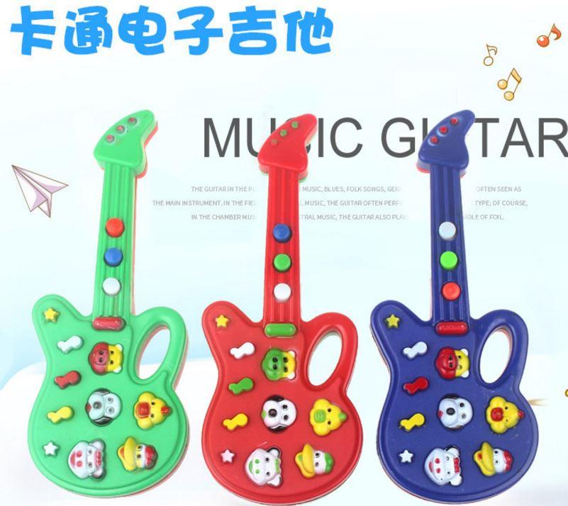 【省錢博士】兒童玩具迷你音樂電子吉他 / 卡通電子吉他