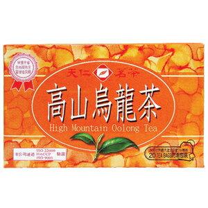 天仁茗茶 高山 烏龍茶(盒) 40g【康鄰超市】