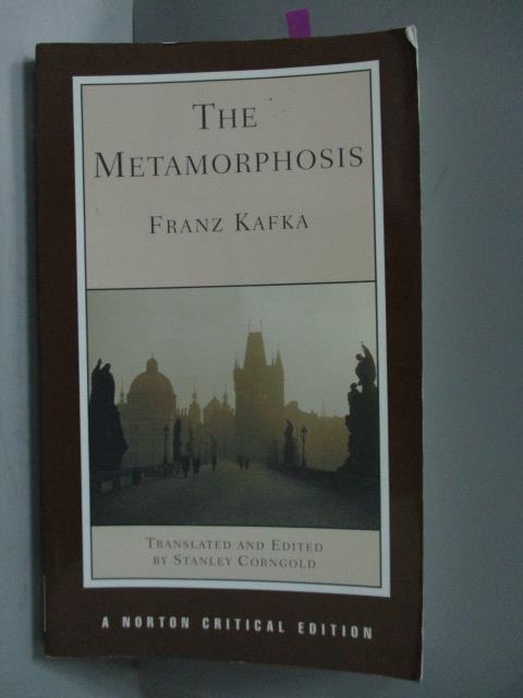 ~書寶 書T8/原文書_OKG~The Metamorphosis ^(Norton Cr
