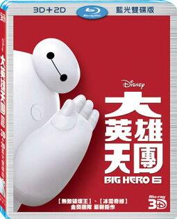 大英雄天團3D+2D藍光雙碟版BD