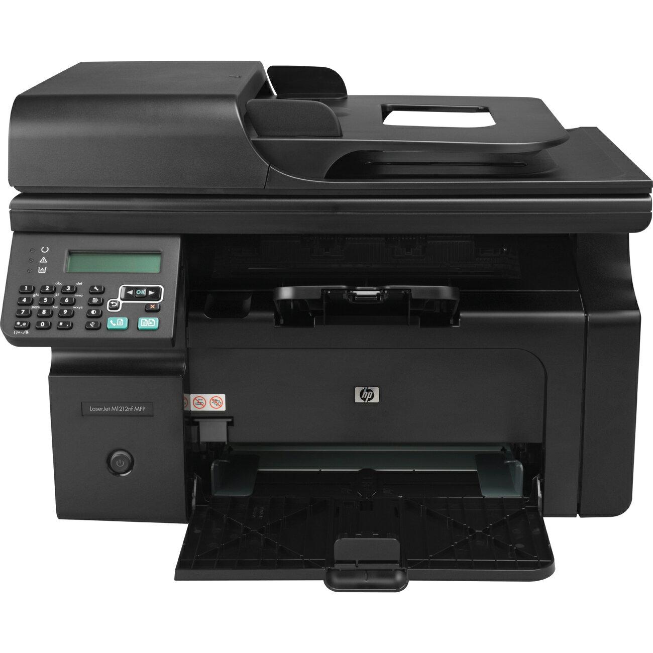 HP LaserJet M1212nf Multifunction Monochrome Laser Printer 0