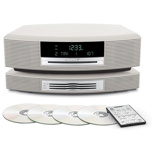 Bose Wave Music System with Multi-CD Changer -- Platinum White